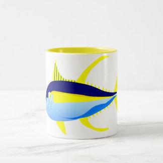 Yellowfin Tuna Two-Tone Coffee Mug