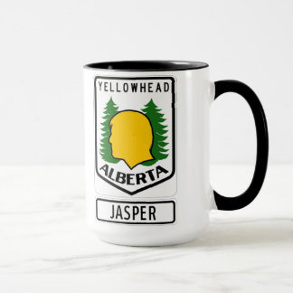 Yellowhead Highway - Jasper, Alberta Mug