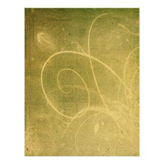 Yellowish Green GRUNGE SWIRLS DIRTY BACKGROUNDS W Flyers