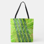 Yellowish green stock market with risks and traces tote bag