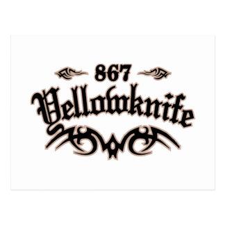 Yellowknife 867 tarjetas postales