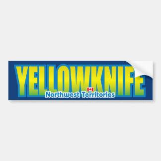 Yellowknife Bumper Bumper Sticker