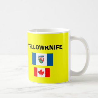 Yellowknife* YZF Airport Code Mug