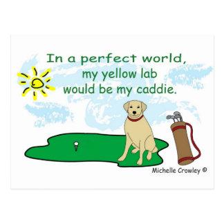 YellowLab Tarjeta Postal