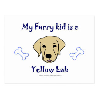 YellowLab Postcard