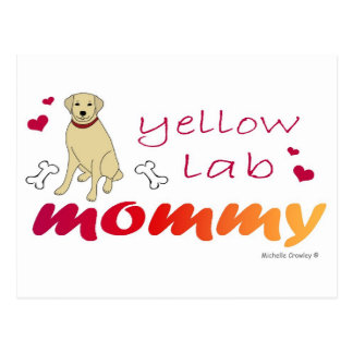 YellowLabMommy Postcard