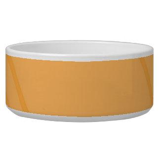 YellowOrange Crissed Crossed Bowl