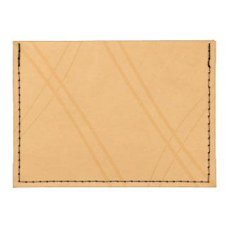 YellowOrange Crissed Crossed Tyvek® Card Wallet