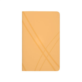 YellowOrange Crissed Crossed Journal