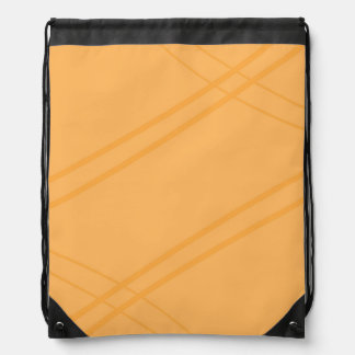 YellowOrange Crissed Crossed Drawstring Bags