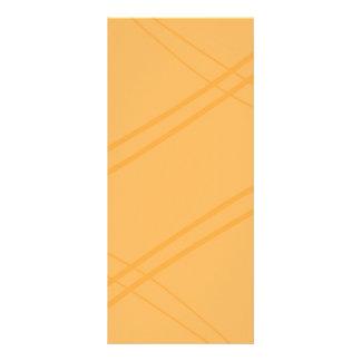 YellowOrange Crissed Crossed Rack Card