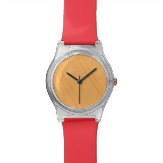 YellowOrange Crissed Crossed Wristwatch