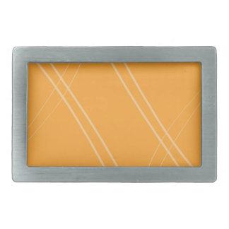 YellowOrangeInverted Crissed Crossed Belt Buckles