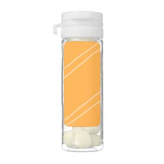 YellowOrangeInverted Crissed Crossed Gum