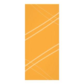 YellowOrangeInverted Crissed Crossed Rack Card