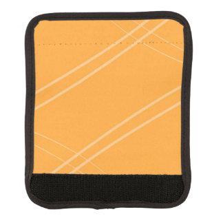YellowOrangeInverted Crissed Crossed Luggage Handle Wrap