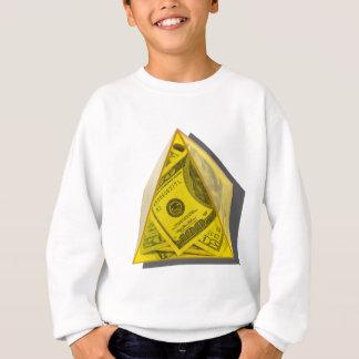 YellowPowerPyramidMoney021411 Sweatshirt