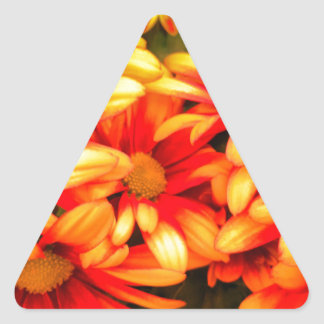 yellowred dream triangle sticker