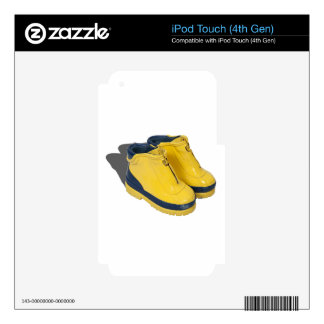 YellowRubberBoots042112.png iPod Touch 4G Skin