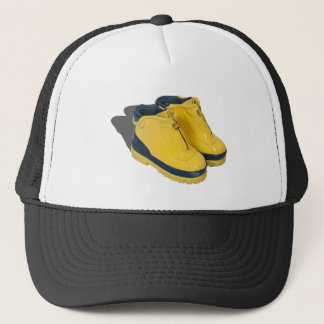 YellowRubberBoots042112.png Trucker Hat