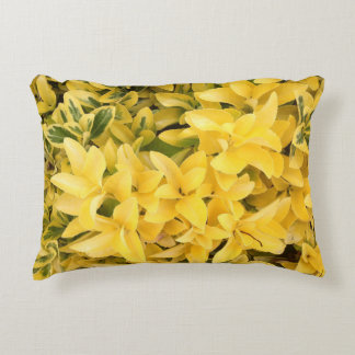 """Yellow's Delight"", Photo Artwork Accent Pillow"