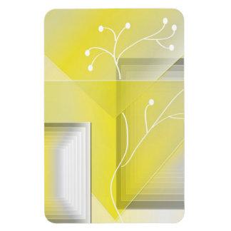 Yellowscape  -magnet rectangular photo magnet