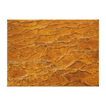 Yellowstone Abstract Wrapped Canvas Print
