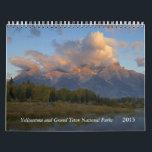 "Yellowstone and Tetons Calendar<br><div class=""desc"">Yellowstone and Grand Tetons National Park</div>"