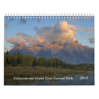 Yellowstone and Tetons Calendar