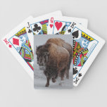 Yellowstone Bison Bicycle Poker Cards