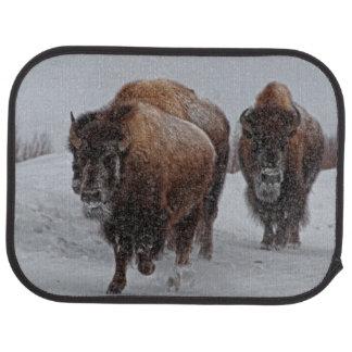 Yellowstone Bison Car Floor Mat
