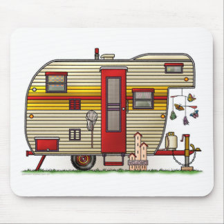 Yellowstone Camper Trailer Mouse Pad