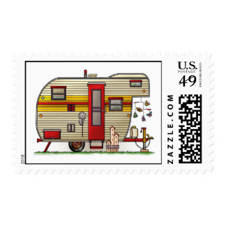 Yellowstone Camper Trailer Postage