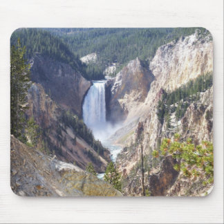 Yellowstone canyon mouse pad