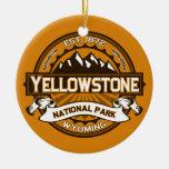Yellowstone de oro adorno de reyes