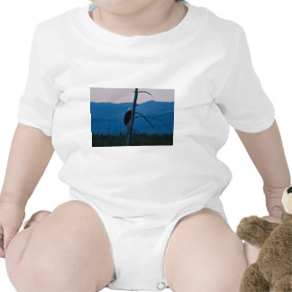 Yellowstone Eagle Baby Bodysuits
