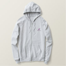 Yellowstone Embroidered Zip Hoodie