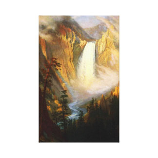 Yellowstone Falls Canvas Wrap