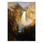 Yellowstone Falls Greeting Card Greeting Card
