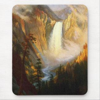 Yellowstone Falls Mouse Pad
