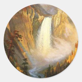 Yellowstone Falls Stickers