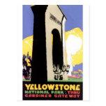 yellowstone gateway postcards