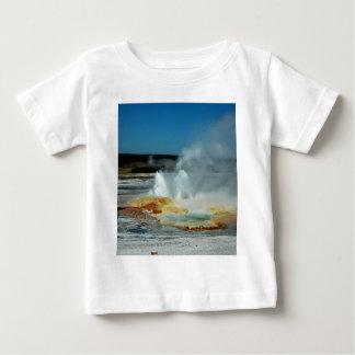Yellowstone Geysers Baby T-Shirt