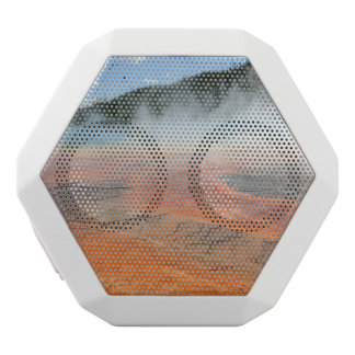 Yellowstone Grand Prismatic Spring White Bluetooth Speaker