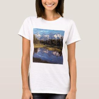 Yellowstone Grand Teton Reflections T-Shirt