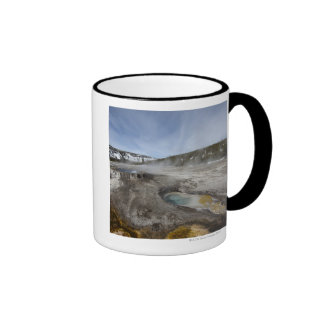 Yellowstone is famous for its geothermal coffee mug