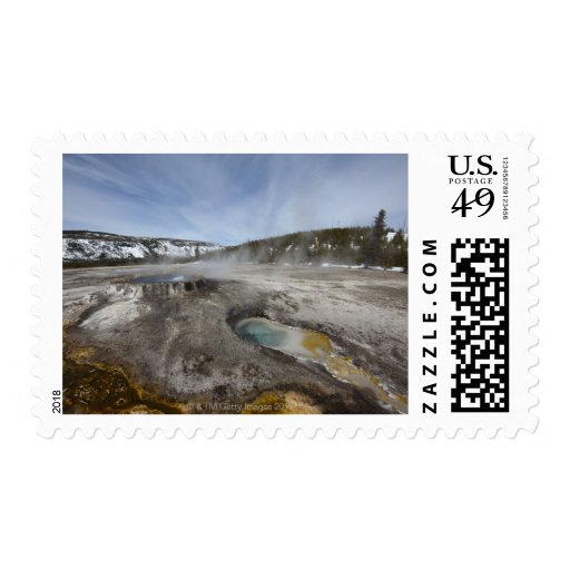 Yellowstone is famous for its geothermal postage
