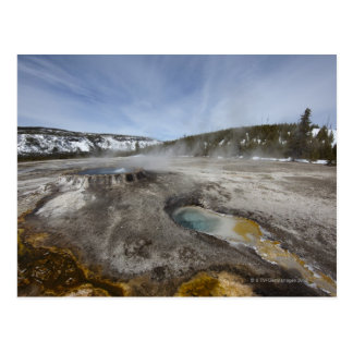 Yellowstone is famous for its geothermal postcard