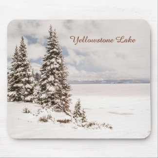 Yellowstone Lake in Yellowstone National Park Mouse Pad