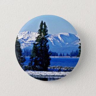 Yellowstone Lake - Yellowstone National Park Pinback Button